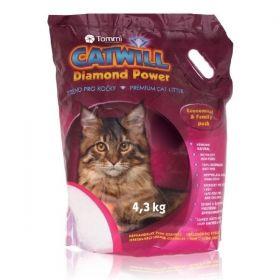 Catwill Diamond Power podestýlka pro kočku Eco Pack 4,3 kg