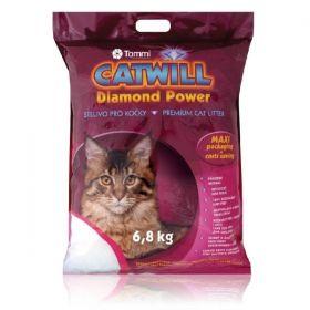 Catwill Diamond Power podestýlka pro kočku Maxi Pack 6,8 kg