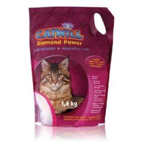 Catwill Diamond Power podestýlka pro kočku Pack 1,6 kg
