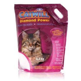 Catwill Diamond Power podestýlka pro kočku Pack 3,3 kg