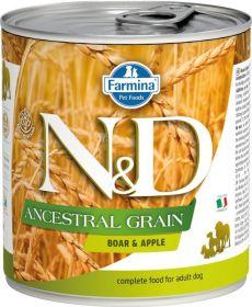 N&D Low Grain Dog konz. Adult Boar & Apple 285 g