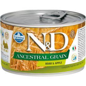 N&D Low Grain Dog konz. Adult Boar & Apple Mini 140 g