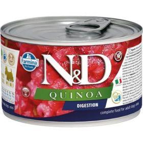 N&D QUINOA Dog konz. Digestion Lamb & Fennel Mini 140 g