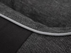 Pelíšek pro psa Royal ekolen - tmavě šedý