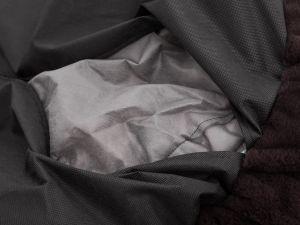 Pelíšek pro psa Tlapa - hnědý