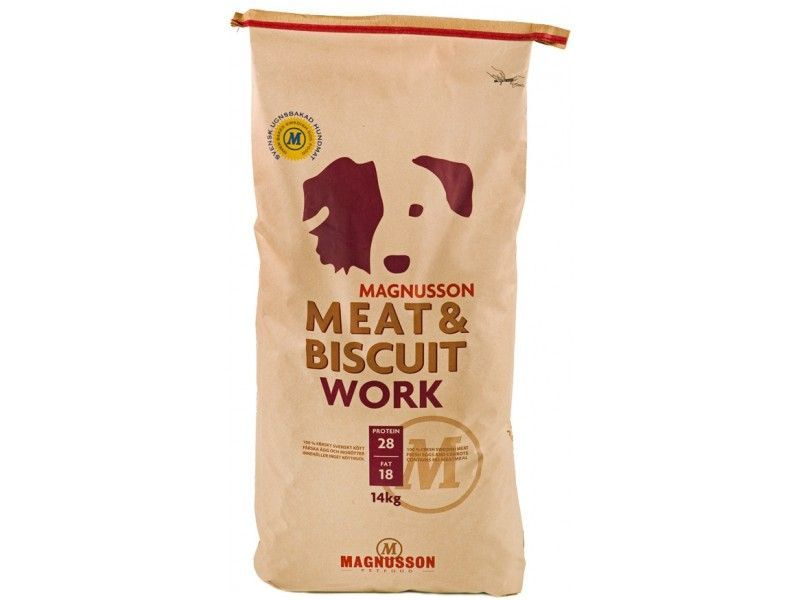 Magnusson Meat&Biscuit Work 14kg - expirace 4/19