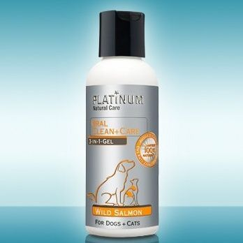 PLATINUM NATURAL ORAL CLEAN & CARE - WILD SALMON GEL 120ML Pro Developments GmbH