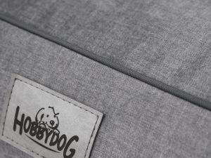 Pelíšek pro psa Glamour - šedý Fancy