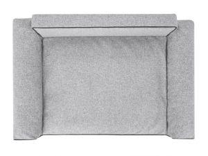 Pelíšek pro psa Glamour - šedý Inari