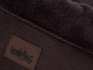 Pelíšek pro psa Rabbit - hnědý