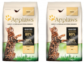 Applaws Cat Adult Chicken 2 x 7,5kg