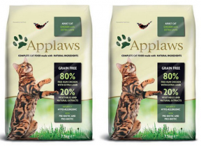Applaws Cat Adult Chicken & Lamb 2 x 7,5kg