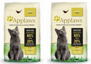 Applaws Cat Senior Chicken 2 x 7,5kg