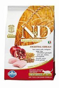 N&D Low Grain CAT Neutered Chicken & Pomegranate 300g