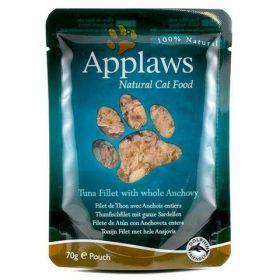 Applaws kapsička Cat 70g tuňák a celé ančovičky