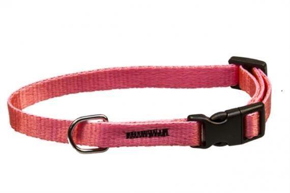Obojek puppy nylon rozlišovací - růžový 1,00 x 18-28 cm B&F