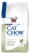 Purina Cat Chow Special Care Sterilized krůta 1,5kg