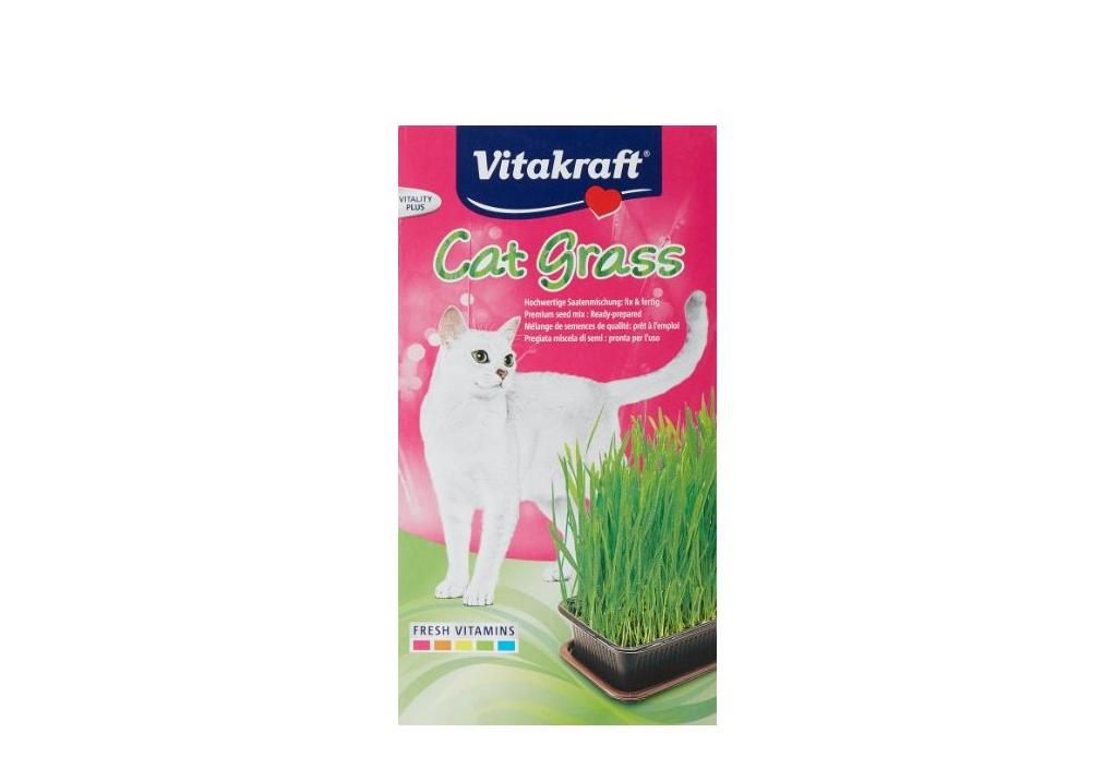 Vitakraft tráva pro kočky semena 120g