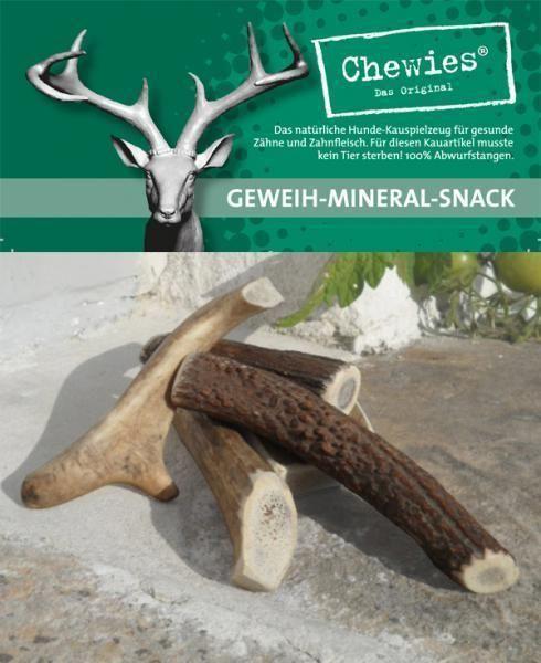 Paroží jelení pamlsek pro psy Chewies Geweih - Snack - XS