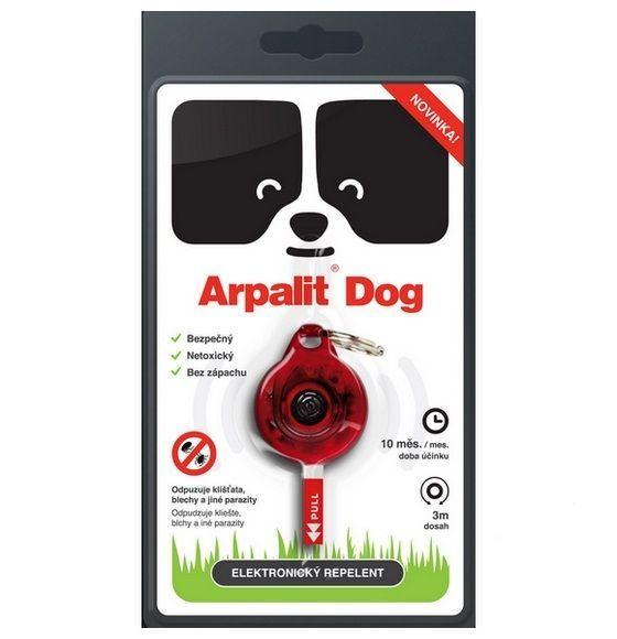 Elektr. odpuzovač klíšťat Arpalit Dog pro psy 1ks Aveflor