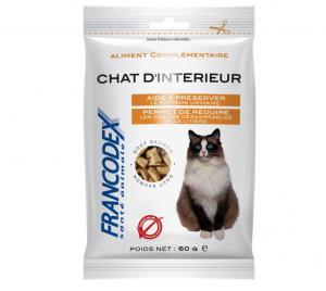 Francodex Pochoutka Indoor kočka 60g