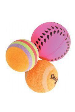 Sada míčků 3ks 4cm oranžová Zolux