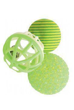 Sada míčků 3ks 4cm zelená Zolux