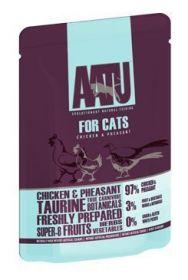 AATU Cat Chicken & Pheasant kapsička 85g