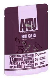 AATU Cat Chicken & Quail kapsička 85g
