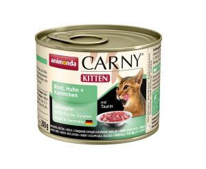 Animonda Kitten drůbeží/králík - konzerva 200g