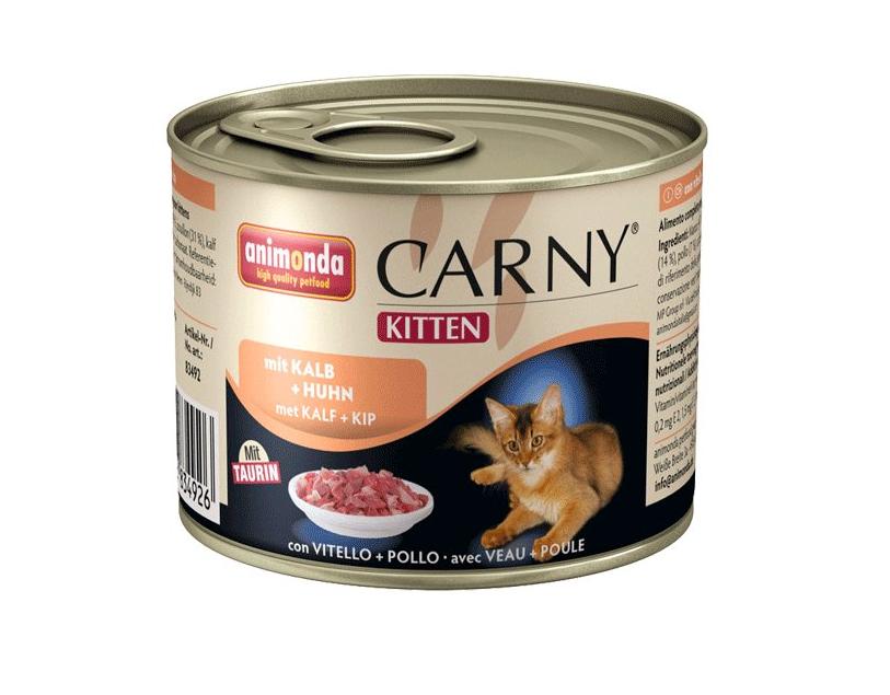 Animonda Kitten drůbeží/telecí - konzerva 200g