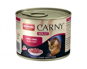 Animonda kočka Adult hovězí a srdce - konzerva 200g