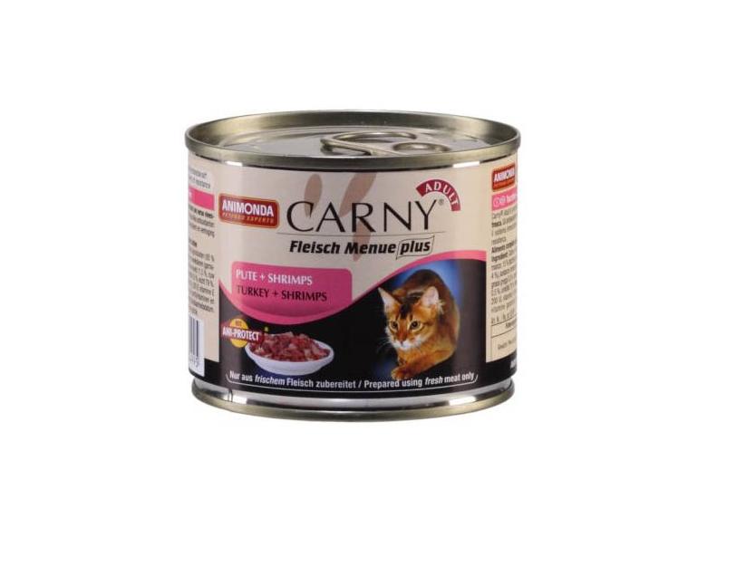 Animonda kočka Adult krůta a krevety - konzerva 200g