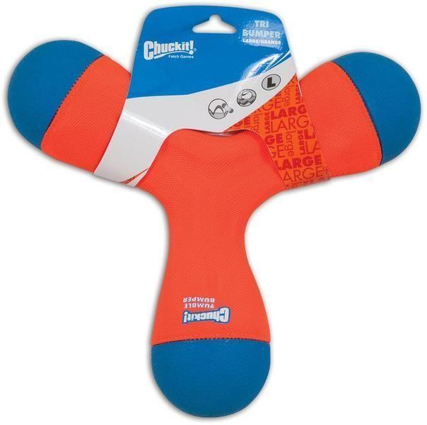 Hračka plovoucí Large - trojitý pešek - oranžová Chuckit!