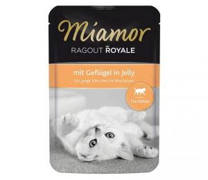 Miamor Cat Ragout Junior kapsa drůbež v želé 100g