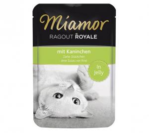 Miamor Cat Ragout kapsa králík v želé 100g
