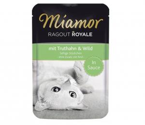 Miamor Cat Ragout kapsa krocan+zvěřina ve šťávě 100g