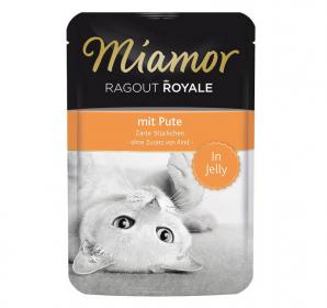 Miamor Cat Ragout kapsa krůta v želé 100g