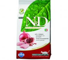 N&D Grain Free CAT Adult Chicken & Pomegranate 1,5kg
