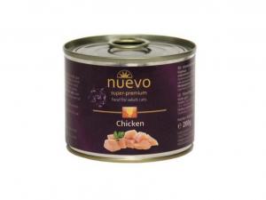 Nuevo Adult kuře - konzerva pro kočky 200g