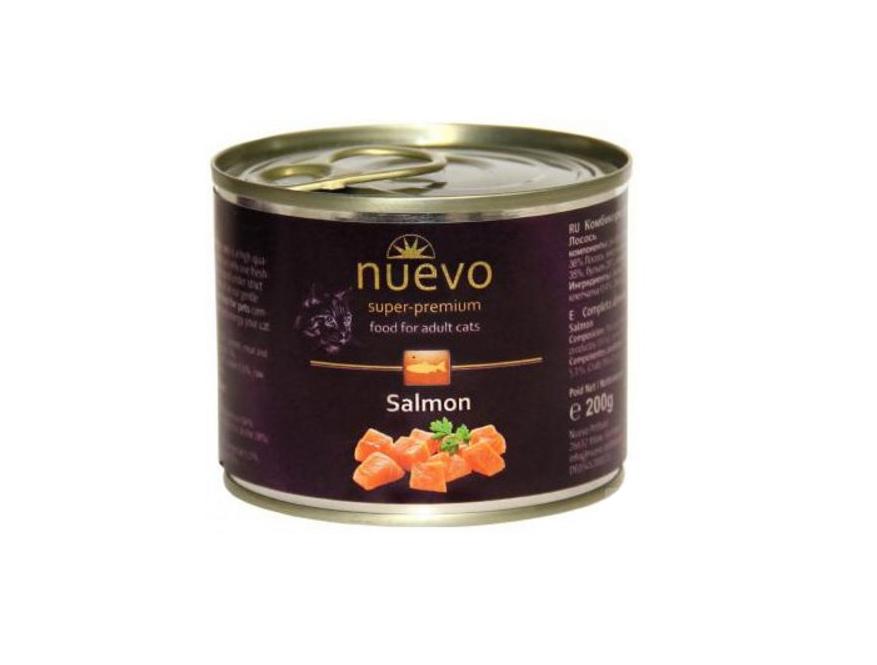 Nuevo Adult losos - konzerva pro kočky 200g