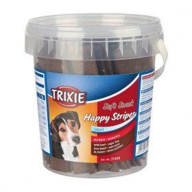 Soft Snack Happy Stripes - hovězí pásky, kyblík 500g